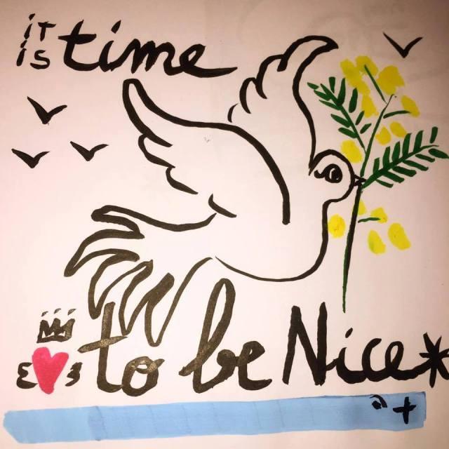 Tis time to be nice