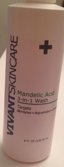 Mandelic cleanser