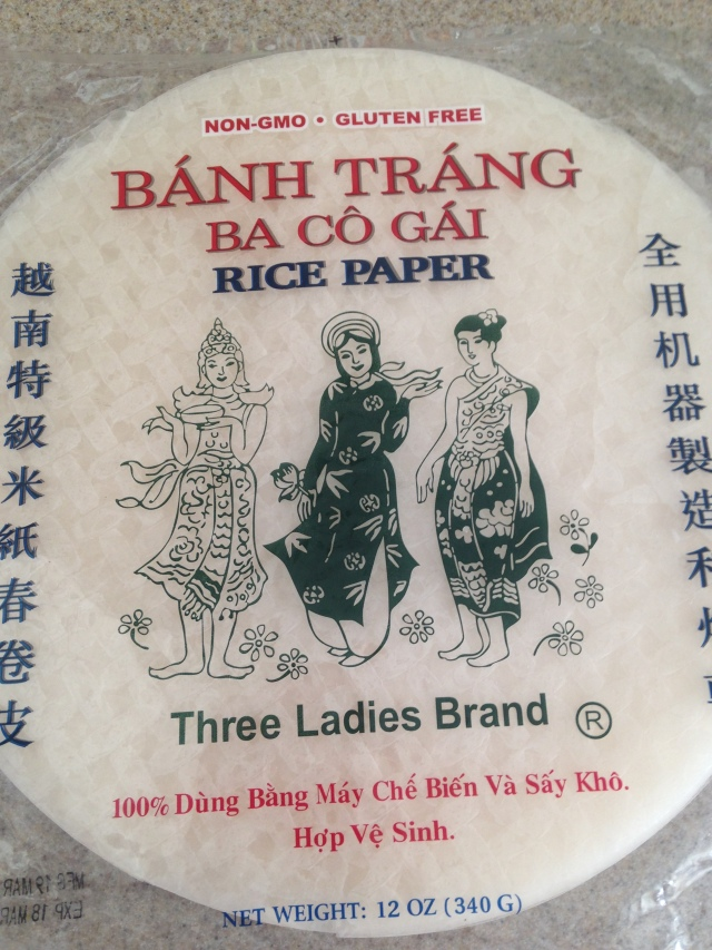 Two buck rice paper at Walmart