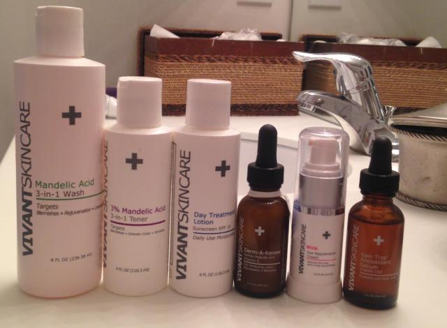 Vivant Skincare products