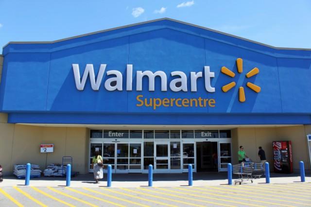 Walmart front