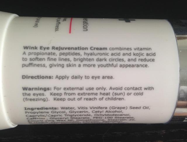 Wink ingredients