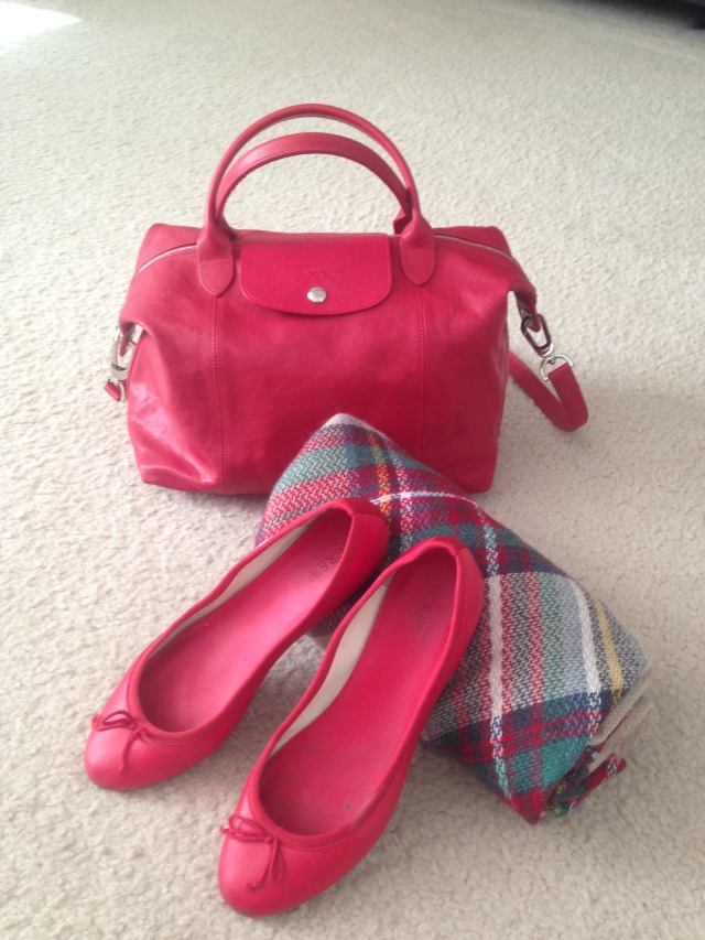 red-bag-shoes-and-scarf