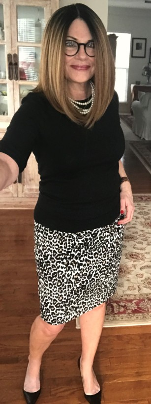 Image result for atypical60 leopard skirt