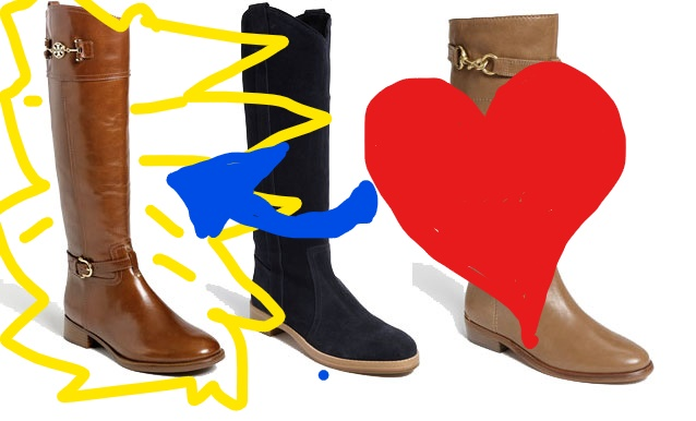 6a346ae767e What other boots  My crossed eyes only saw the Nadine boots from Tory Burch.  They were so stunning and the perfect color!