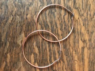 Image result for atypical 60 hoop earrings